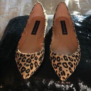 Leopard Steve Madden Flats